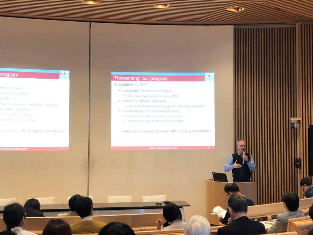 Vortrag auf dem JSLIS Symposium, Tokyo