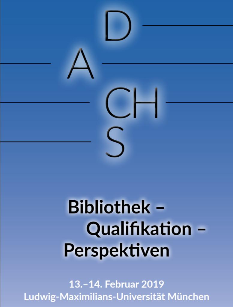 Vortrag auf der D-A-CH-S Tagung, München