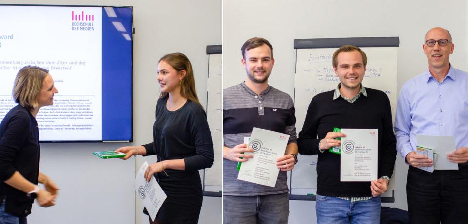 Sprachassistent und Video-Streaming: WI- und ID-Studierende gewinnen den Best Paper Award