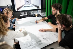 Projekt Immersive Media for Robotics - Projektarbeit im Labor der OSU